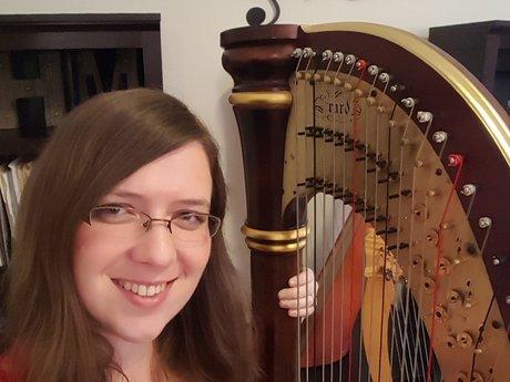 30 minute harp lesson