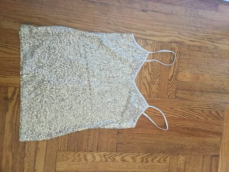 Small sparkly tank EXPRESS brand