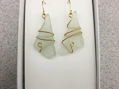 Custom Handmade 14k Gold Earrings