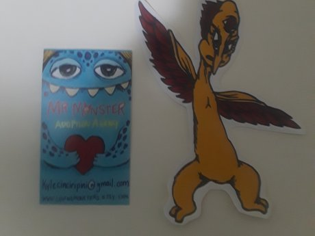 3 Eyed Birdman sticker