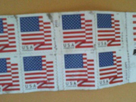 14 Forever stamps USPS