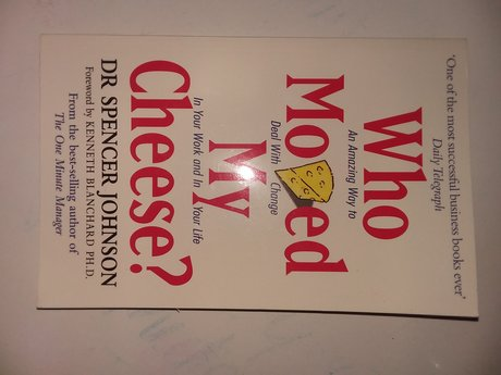 Who Moved My Cheese- Paperback Book