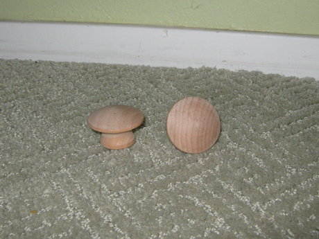 wooden knobs/door pulls/cabinetry
