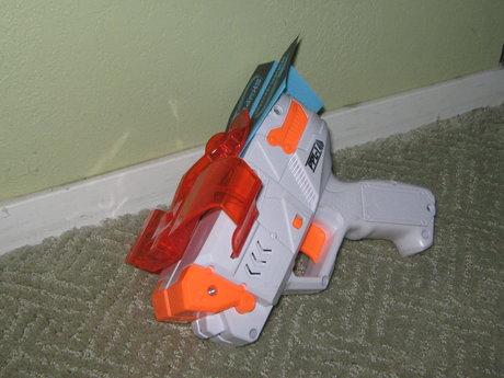 paper airplane launcher batt op