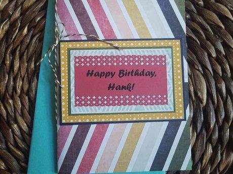 Greeting Card - handmade & custom
