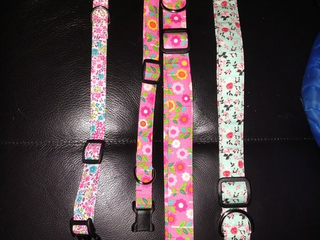 Hand sewn brand new dog collar