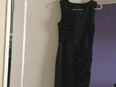 Bcbg navy dress beautiful in person