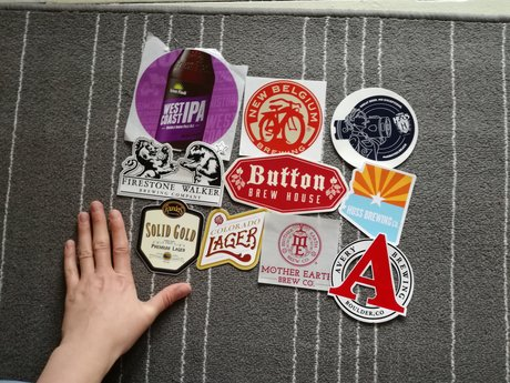 Brewery stickers A