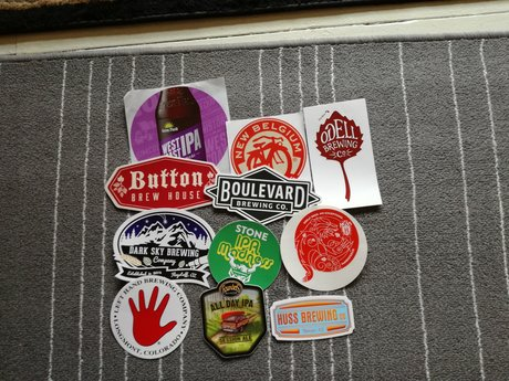 Brewery stickers B