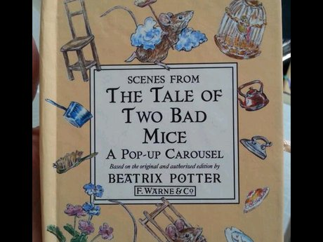 Beatrix Potter Carousel Book