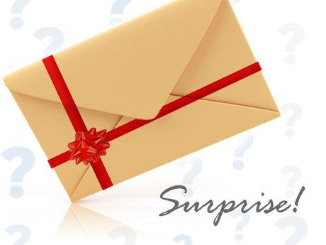 Send You (2) Envelope Surprises!