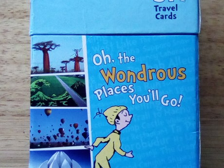 Dr Seuss travel cards