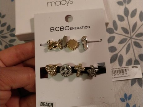 Cute new bracelet with tags and box