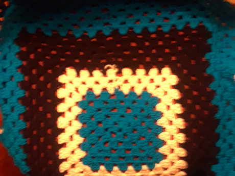 Back the Blue - Crochet Blanket