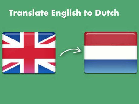 English - Dutch translation