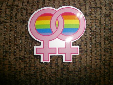 LGBTQ+ Lesbian sticker