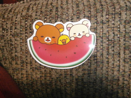Watermelon Kawaii Sticker