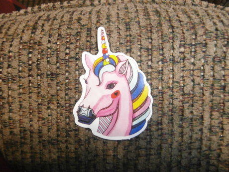 Beautiful Unicorn sticker