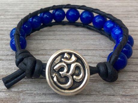 Reserved blue bracelet