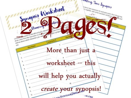 Synopsis Writing Worksheet