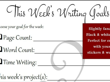Weekly Writing Sheet - Flourish