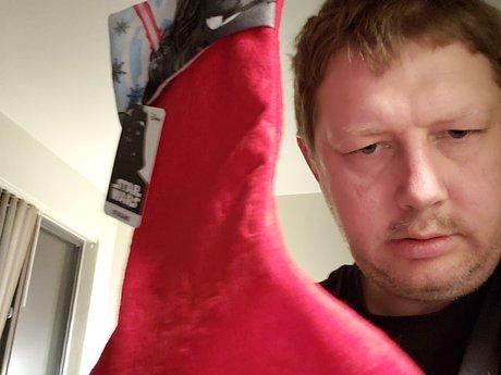 darth vader christmas stocking