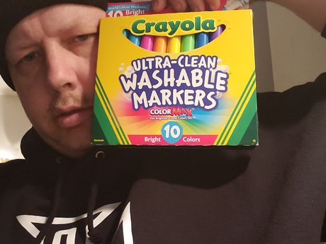 crayola washable markers 10