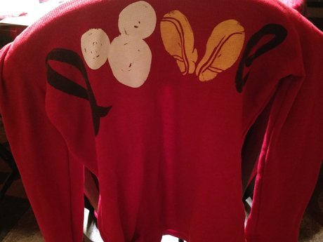 Large Mickey Long Sleeve Shi - Used