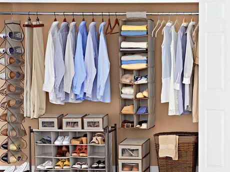 Closet Organization and Purging
