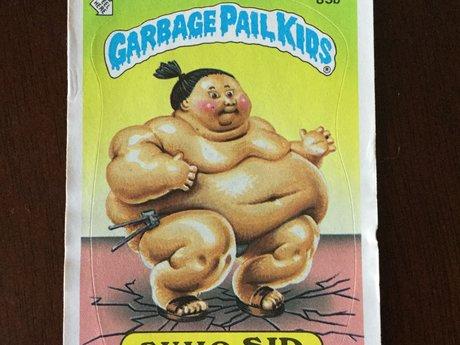 Garbage pail kid sumo sid