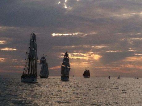 Sail San Diego bay