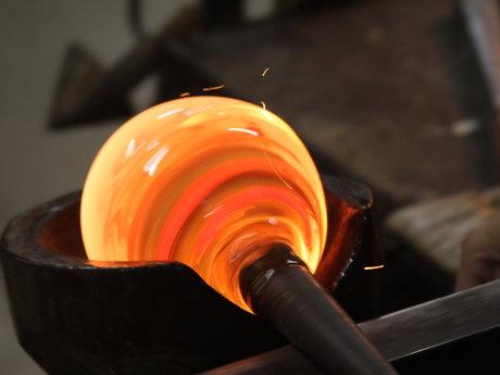 Hand blown Funcitional glass art