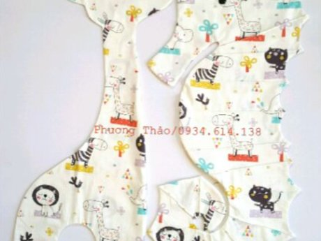 Sea horse pillow COVER for kid