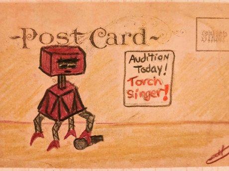 Tiny Original Robot Sketch