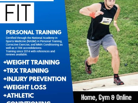 Personal training online/ in person