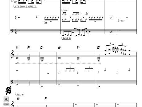 Music transcription - Master rhythm
