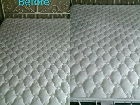Queen mattress cleaning