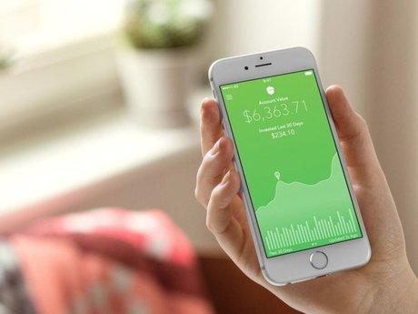 Acorns Investment App Setup