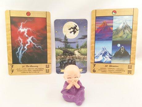 Tarot + I Ching 3 Card Reading