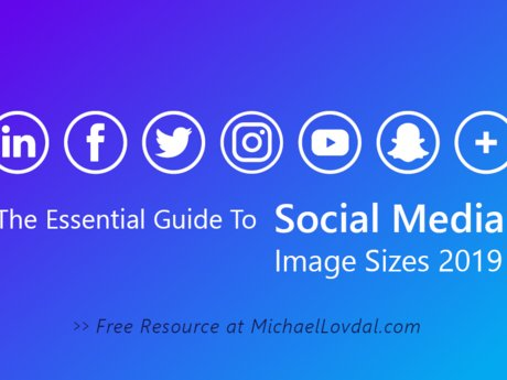 Social media image size guide!