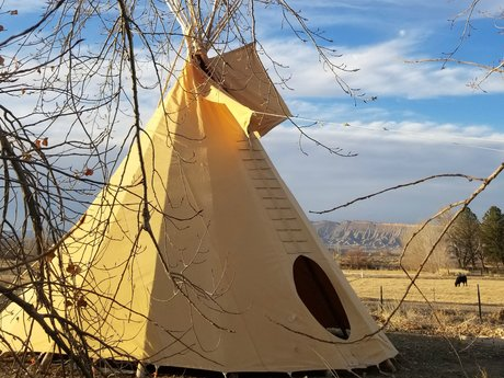 Traveling Shamans Camp in Colorado