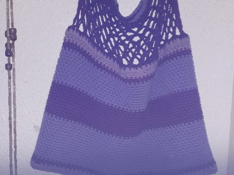 Crochet bag or basket