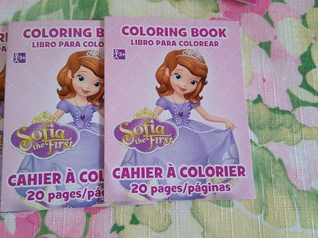 5 Sofia the First Tiny books Span