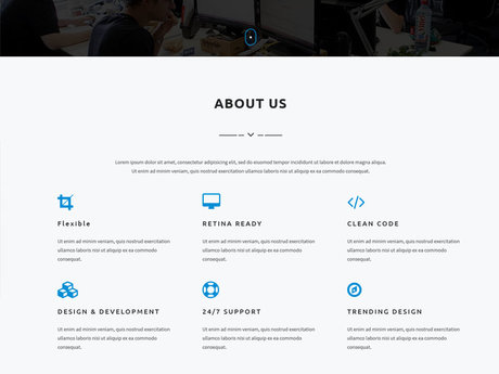 One Page Website (Free Hosting)