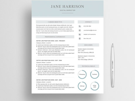 Guide for a Modern Resume (PART 1)