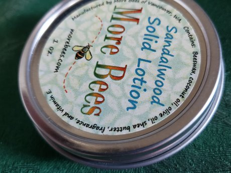 sandalwood solid lotion