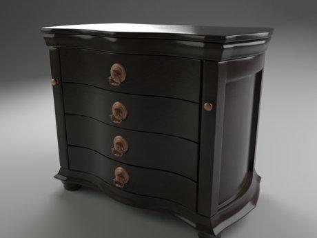 Blender modeling & interior renders