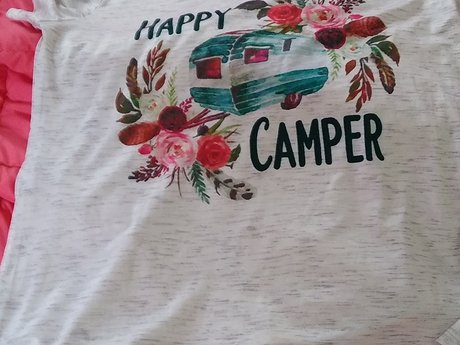 Happy Camper - Large Shirt