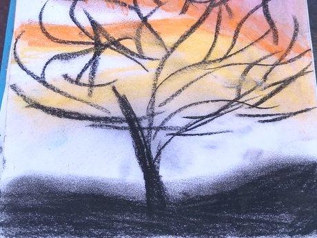 Pastels Drawing