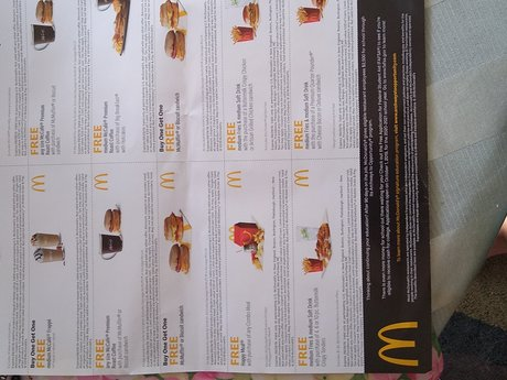 McDonald's Coupons
